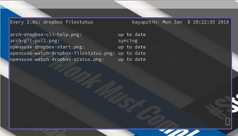 dropbox filestatus progress