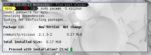 Install Awesome Additional Package