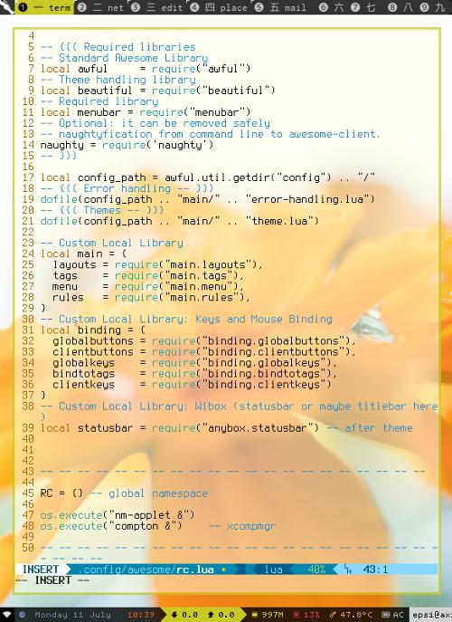 Modularized Awesome WM Code Main