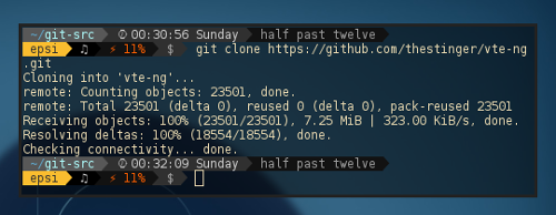 VTE-NG git clone