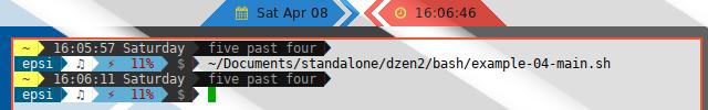 Dzen2 Graphics Decoration Icon Example