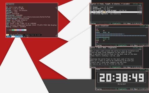 HerbstluftWM: Screenshot No Panel