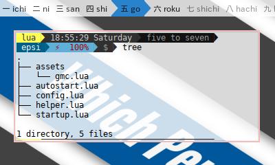 HerbstluftWM: Directory Structure