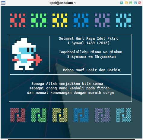 Terminal Ricing: Pixel Art: ANSI Color