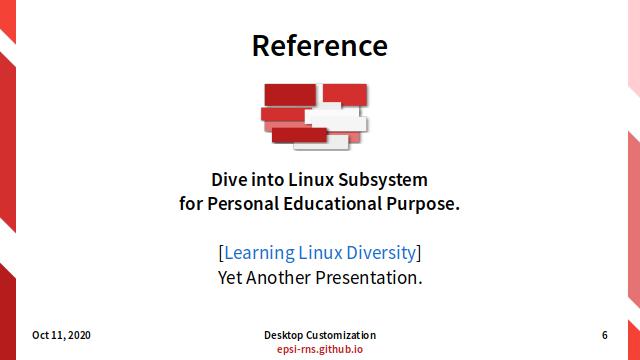 Slide - Modular Linux: Linux Diversity Presentation