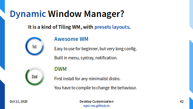 Slide - Dynamic: Window Manager