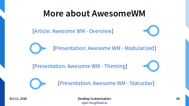 Slide - Dynamic: More About AwesomeWM