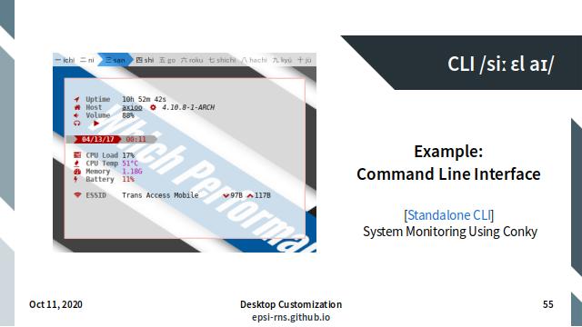 Slide - Terminal: Standalone CLI