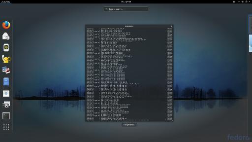 Fullscreen Fedora Core 6 DNF Update