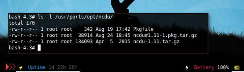 Docker CRUX: Ports Library