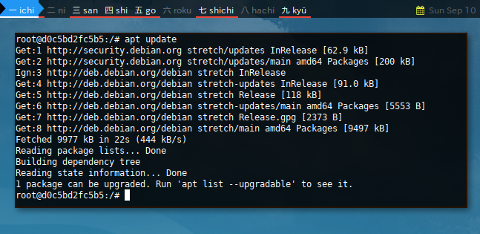 Docker APT: Update
