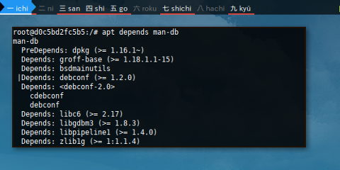 Docker APT: Dependency