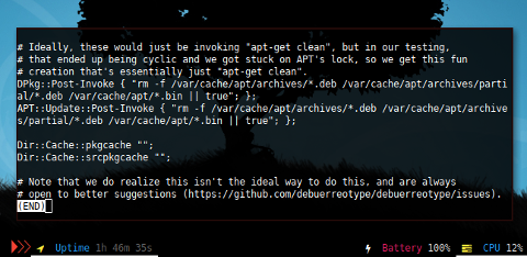 Docker APT: autoclean