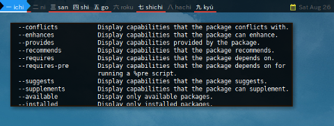 Docker DNF: Help Repoquery