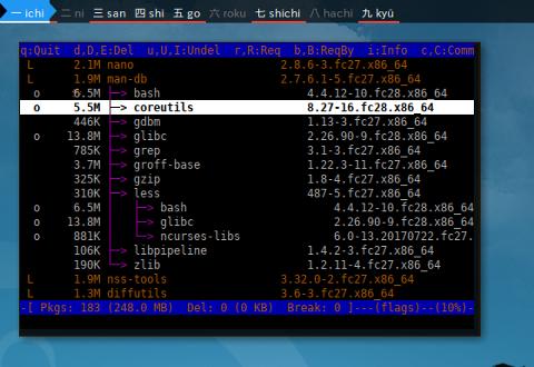 Docker Fedora: rpmreaper