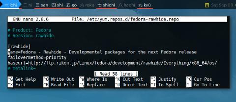 Docker YUM: Mirror Base URL