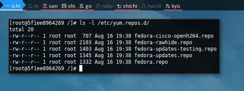 Docker DNF: /etc/yum.repos.d/