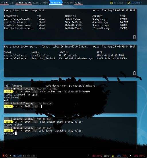 Docker All Screenshot