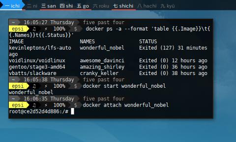 Docker LFS: Getting Started