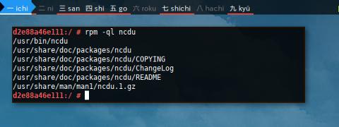 Docker RPM: Query List