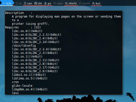 Docker Zypper: Info Require