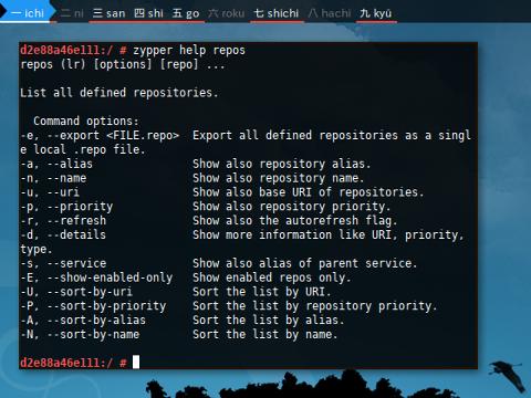 Docker Zypper: Help Repository