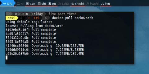Docker Pull Arch Linux