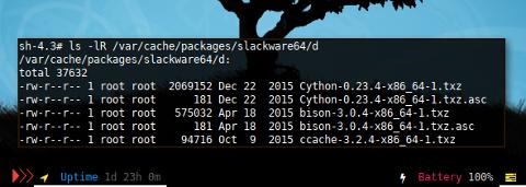 Docker Slack: Cache