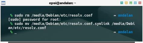 chroot: Debian: restore /etc/resolv.conf