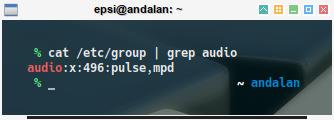 audio: user group