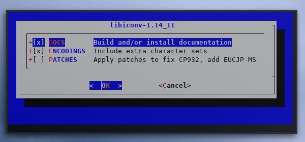 make: recursive: config: libconv