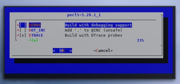 make: recursive: config: perl5