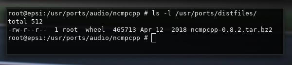 /usr/ports/distfiles/