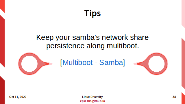 Slide - Multiboot - Tips: Samba Share