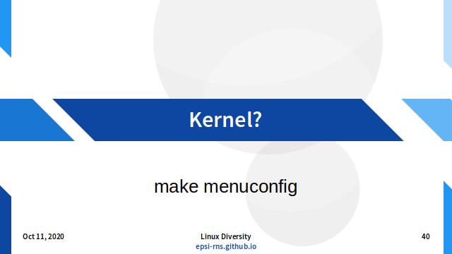 Slide - Kernel